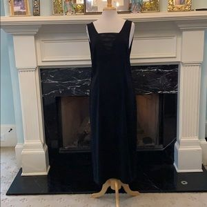 NWT blk H&M evening dress with sheer inserts